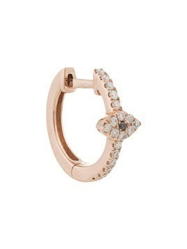 Jacquie Aiche 14kt rose gold pave diamond Eye Center mini hoop