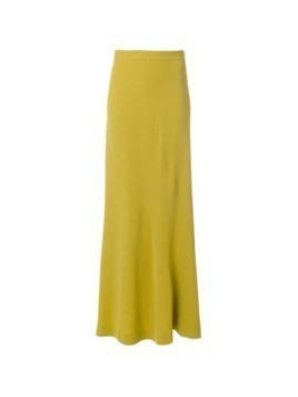 Moschino Vintage high rise maxi skirt - Green