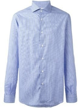 Fashion Clinic Timeless checked shirt - Blue