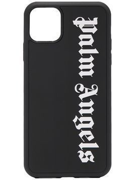Palm Angels stencil-logo iPhon 11 Pro Max case - Black