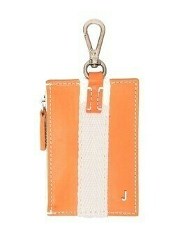 Jacquemus Le Porte Grain keyring wallet - Orange