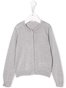 Lapin House long-sleeve fitted cardigan - Grey