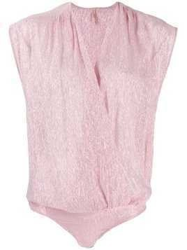 Indress wrap front body - PINK