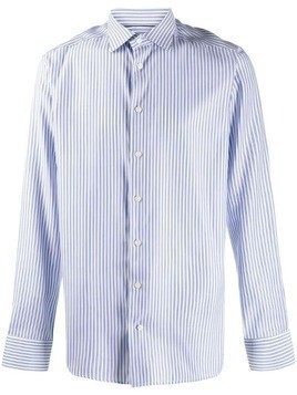 Eton long sleeve striped shirt - Blue