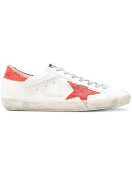 Golden Goose Deluxe Brand - Superstar sneakers - Herren - Calf Leather/Leather/Cotton/rubber - 40 - White
