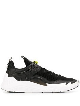McQ Alexander McQueen toggle detail low top sneakers - Black