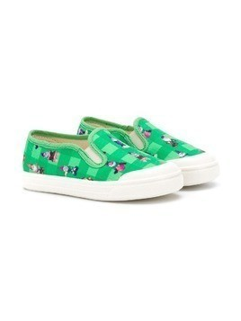 Pépé Kids gnome slippers - Green