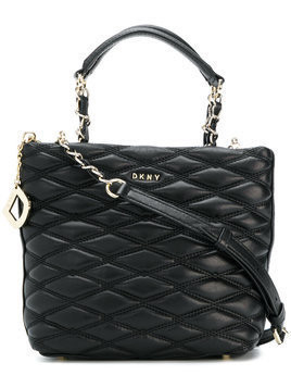 DKNY quilted tote bag - Black