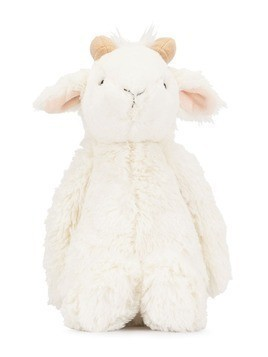 Jellycat goat soft toy - White