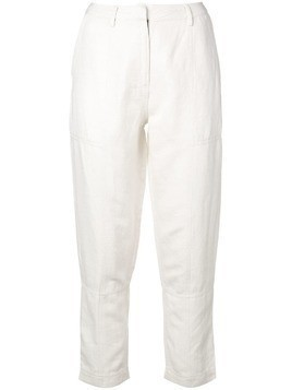 Apiece Apart cropped trousers - White