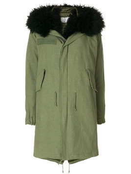 As65 shearling lined parka - Green