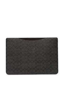 Coach monogram laptop sleeve - Grey