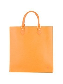 Louis Vuitton Vintage Sac Plat tote bag - Yellow&Orange