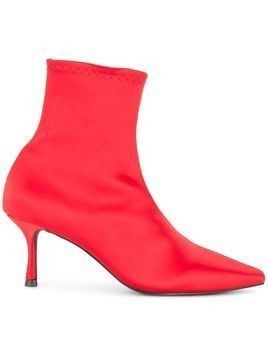 Senso Qweene III stretch boots - Red