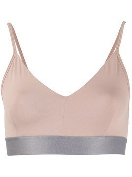 Filippa-K two-tone soft sports bra top - PINK