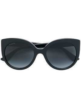 Gucci Eyewear cat eye sunglasses - Black