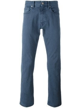 Incotex - slim-fit jeans - Herren - Cotton/Spandex/Elastane - 40 - Blue