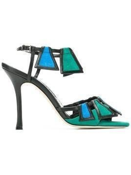 Manolo Blahnik Chamba 105 sandals - Blue