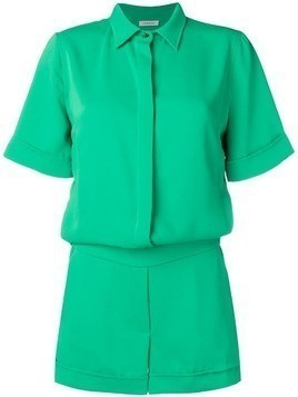 P.A.R.O.S.H. short-sleeve playsuit - Green