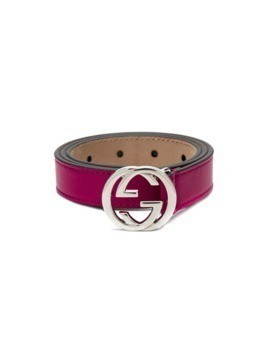 Gucci Kids interlocking G buckle belt - Pink&Purple