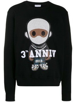 Ih Nom Uh Nit Big 3 Future sweater - Black