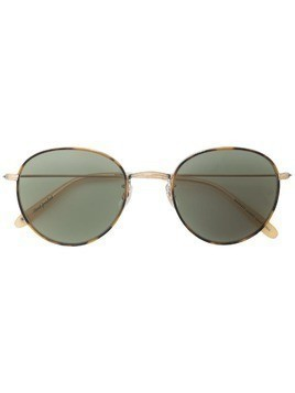 Garrett Leight Paloma round frame sunglasses - Brown