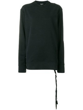 Ann Demeulemeester ANN DEMEULEMEESTER 18022412PA225099 099 BLACK Natural (Vegetable)->Cotton