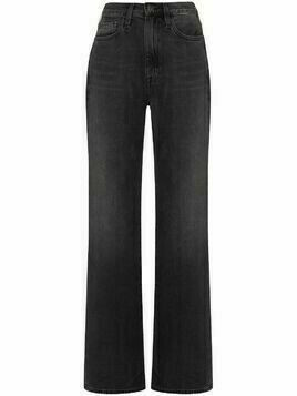 FRAME Le Jane straight leg jeans - Black