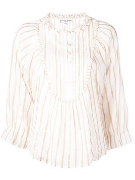 Apiece Apart striped blouse top - White