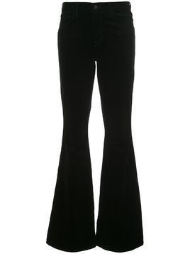 L'Agence high-rise flared jeans - Black
