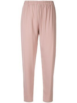 Mansur Gavriel elasticated trousers - Pink