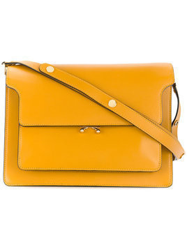 Marni - Trunk bag - Damen - Calf Leather - One Size - Yellow & Orange