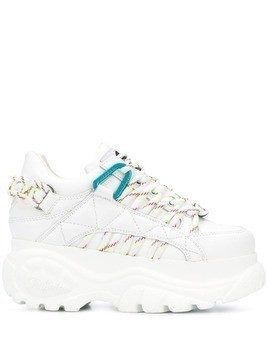 Buffalo chunky sole sneakers - White