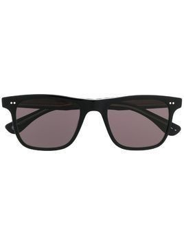 Garrett Leight Wavecrest square frame sunglasses - Black
