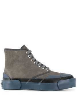 Julien David hi-top sneakers - Grey