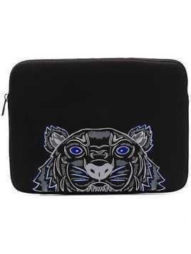 Kenzo Tiger laptop case - Black
