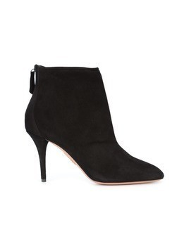 Aquazzura zip up ankle boots - Black