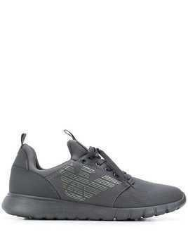 Ea7 Emporio Armani low top lace up sneakers - Grey