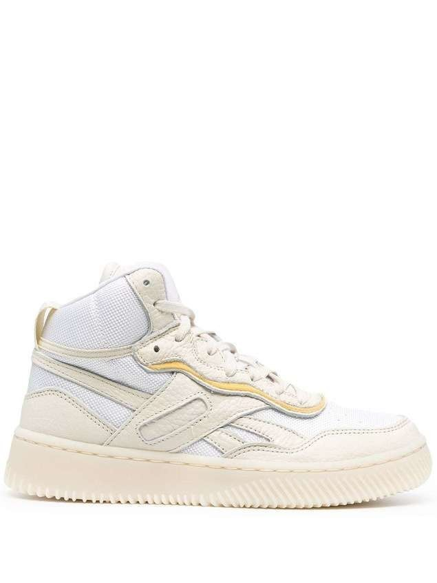 Reebok x Victoria Beckham high-top lace-up sneakers - Neutrals
