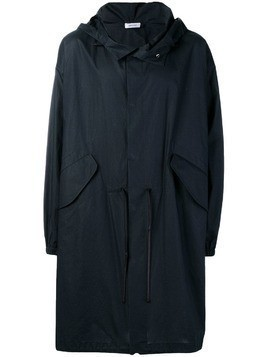 Jil Sander loose raincoat - Blue