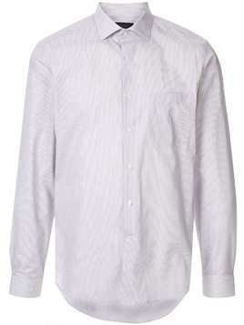 D'urban long-sleeve fitted shirt - Grey