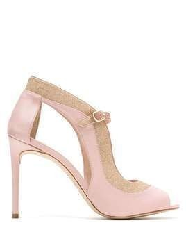 Sarah Chofakian Shine high heels sandals - PINK