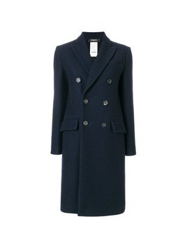 Dsquared2 double-breasted coat - Blue