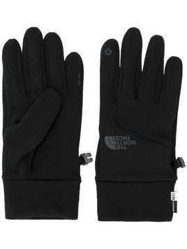 The North Face touch sensitive knitted gloves - Black