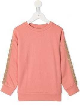 Molo side stripe sweater - Pink