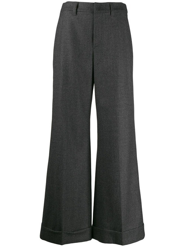Brunello Cucinelli flared trousers - Grey