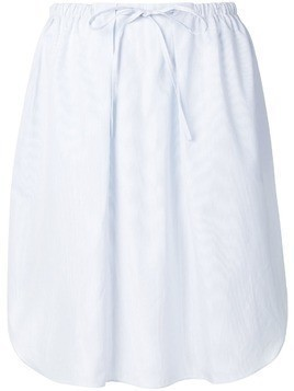 Jil Sander Navy drawstring skirt - Blue