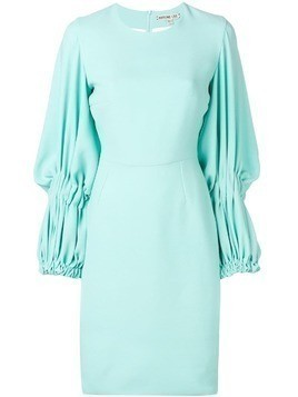 Edeline Lee Georgette Champion dress - Blue