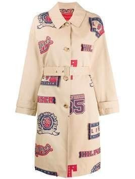 Hilfiger Collection printed trench coat - Neutrals