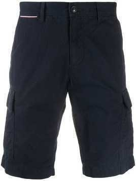 Tommy Hilfiger knee length chino shorts - Blue